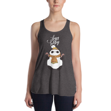 Load image into Gallery viewer, Happy Holiday Panda Women's Tank Tops