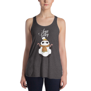 Happy Holiday Panda Women's Tank Tops