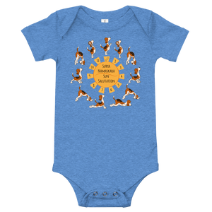 Yoga Time Baby Bodysuit