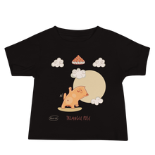 Load image into Gallery viewer, Triangle Pose Yoga Baby Tee's