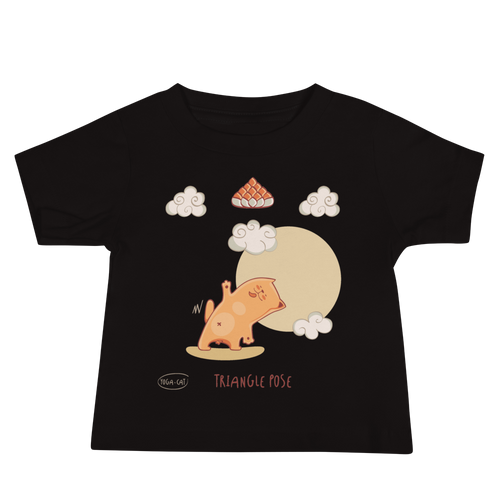 Triangle Pose Yoga Baby Tee's