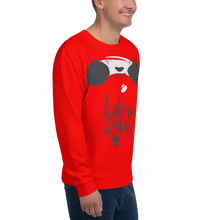 Load image into Gallery viewer, Hate Winter Smirk Panda Men's Sweatshirt