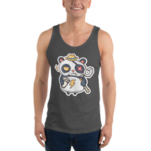 Load image into Gallery viewer, Eye Patch Panda Men's Tank Tops