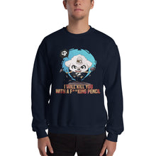 Load image into Gallery viewer, Kill You With A Pencil Men's Sweatshirt