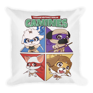 Teenage Mutant Ninja Canines Premium Pillows