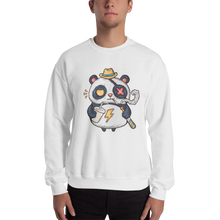 Load image into Gallery viewer, Eye Patch Panda Men's Sweatshirt