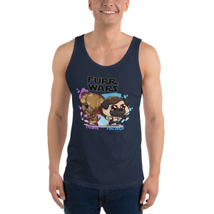 Chewie and Pug Zolo Men's Tank Tops