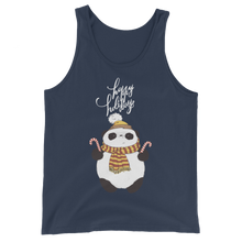 Load image into Gallery viewer, Happy Holiday Panda Men's Tank Tops