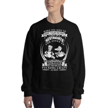 Load image into Gallery viewer, Crazy Patient Women's Sweatshirt