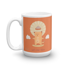 Load image into Gallery viewer, Cats Love Yoga Mug