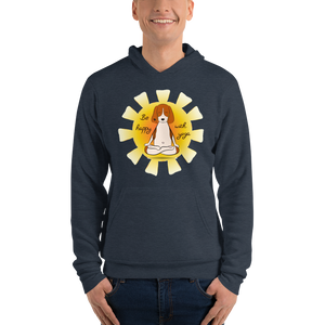 Be Happy With Yoga Men's Hoodies