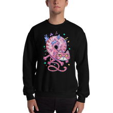 Load image into Gallery viewer, Infinity Cat Men's Sweatshirt