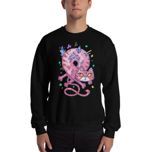 Infinity Cat Men's Sweatshirt