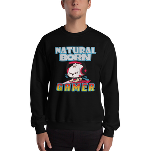Natural Born Gamer Men's Sweatshirt