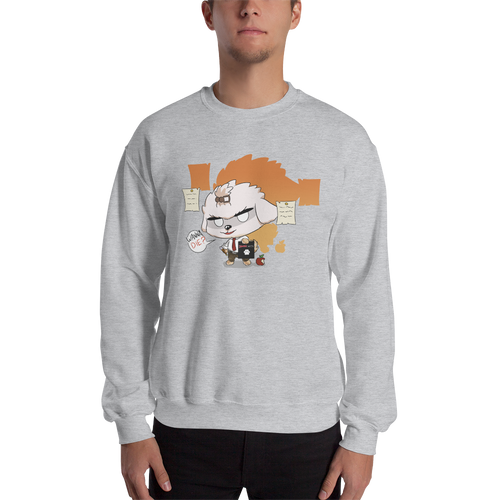 Dog Note Men's Sweatshirt