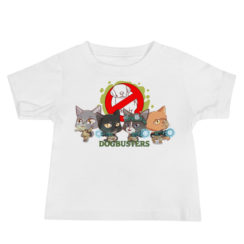 DOGBUSTERS Baby Tee's