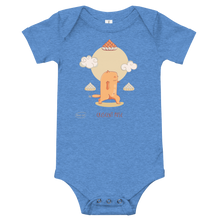 Load image into Gallery viewer, Cresent Pose Yoga Baby Bodysuit