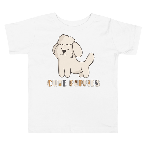 Cute Puppies Toddler Tee's