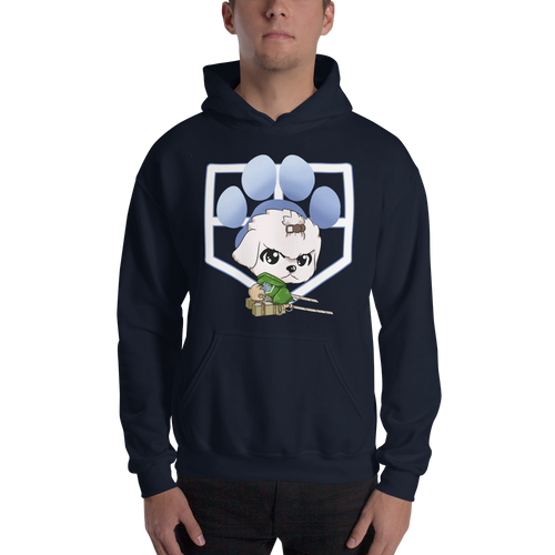 Attack Of The Canines Men's Hoodies