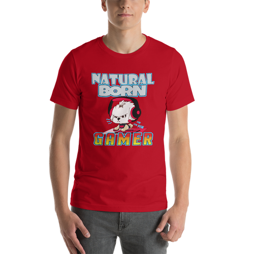 Natural Born Gamer Men's Tee's