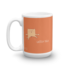 Load image into Gallery viewer, Cattish Yoga Mug