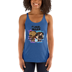 Chewie and Pug Zolo Women's Tank Tops