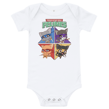 Load image into Gallery viewer, Teenage Mutant Ninja Felines Baby Bodysuit