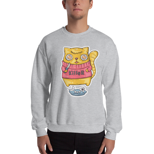 Killer Cat Men's Sweatshirt