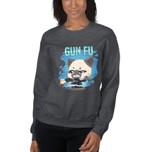 Load image into Gallery viewer, Cat Wick Gun Fu Women's Sweatshirt
