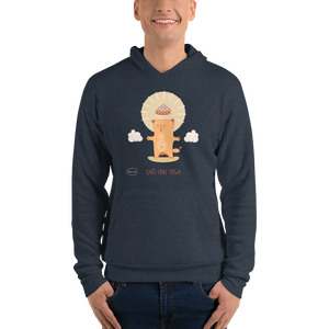 Cats Love Yoga Men's Hoodies
