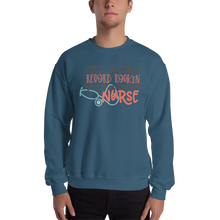 Load image into Gallery viewer, Hard Working Nurse Men's Sweatshirt