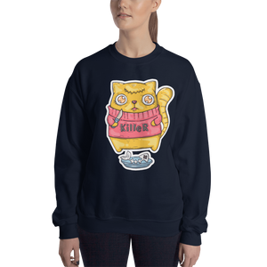 Killer Cat Women's Sweatshirt