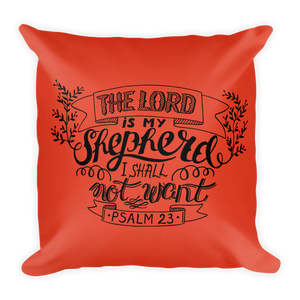 Psalm 23 Premium Pillow
