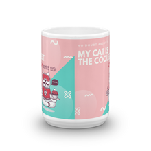 Load image into Gallery viewer, My Cat Is The Coolest Mug