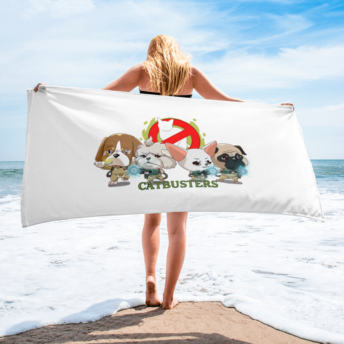 CATBUSTERS Beach Towels