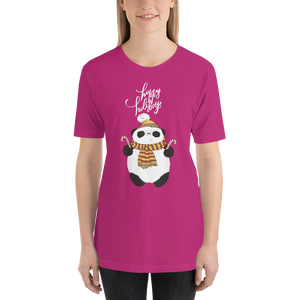Happy Holiday Panda Women's Tee's