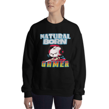 Load image into Gallery viewer, Natural Born Gamer Women's Sweatshirt