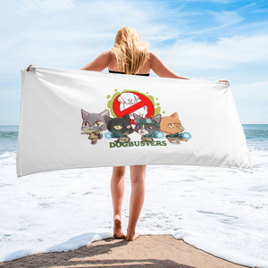 DOGBUSTERS Beach Towels