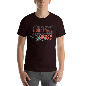 Hard Working Nurse Men's Tee's