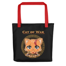 Load image into Gallery viewer, Cat Of War Tote bag