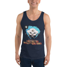 Load image into Gallery viewer, Kill You With A Pencil Men's Tank Tops