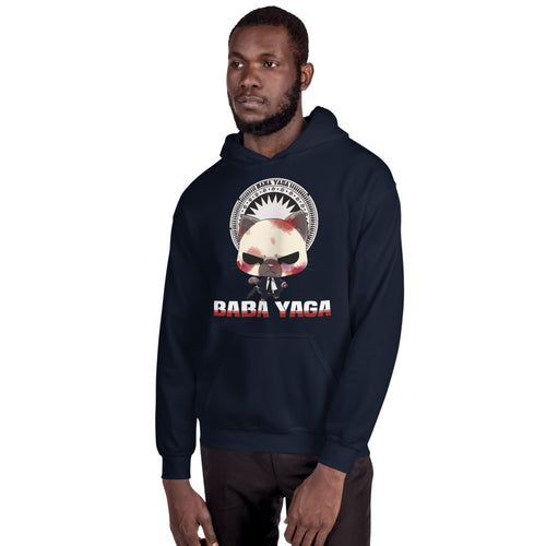 Cat Wick Baba Yaga Men's Hoodies