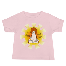 Load image into Gallery viewer, Be Happy With Yoga Baby Tee's