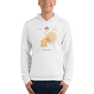 Triangle Pose Yoga Men's Hoodies