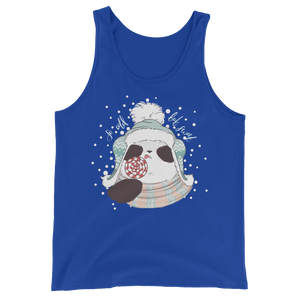 So Cold But Sweet Panda Men's Tank Tops