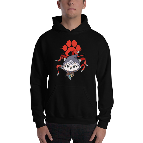 Canine Assassin Men's Hoodies