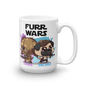 Chewie And Pug Zolo Mug