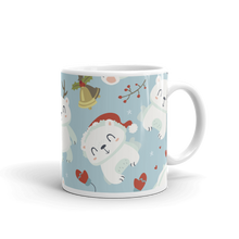 Load image into Gallery viewer, Polar Bear Snow Mug
