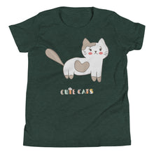 Load image into Gallery viewer, Cute Cats Youth Tee's