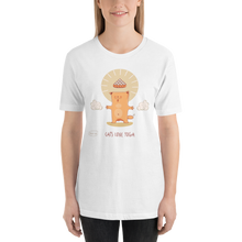 Load image into Gallery viewer, Cats Love Yoga Women's Tee's